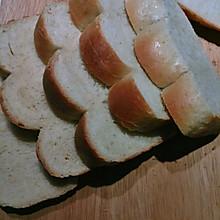 鲜奶土司面包「无油配方,面包机适用」