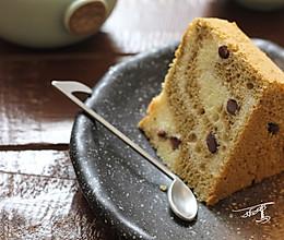 抹茶和蜜豆的完美结合--抹茶蜜豆戚风的做法