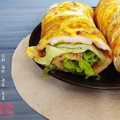 台式煎蛋饼