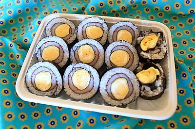 蛋烧蟹棒饭卷