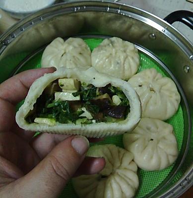 香干菜包的做法