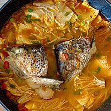 三文鱼头浓汤 | 独家