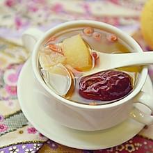 温补润燥——红枣百合雪梨糖水
