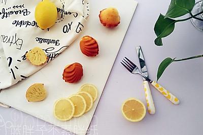 水果清香之柠香玛德琳蛋糕(少油版)