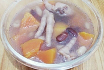 木瓜鸡脚花生腰豆汤的做法