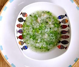 婴儿辅食-西南花鲜虾粥的做法