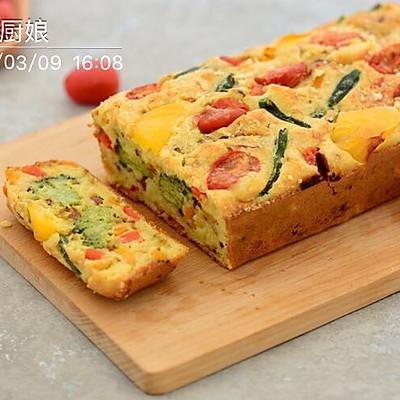 下午茶-西兰花山药法式咸蛋糕