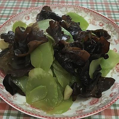 木耳莴苣片