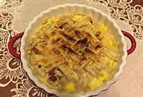 飞饼版风情鸡蛋土豆派的做法