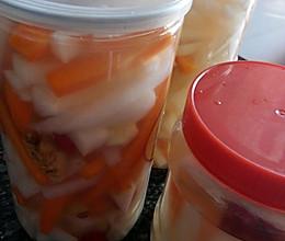 泡酸萝卜条的做法