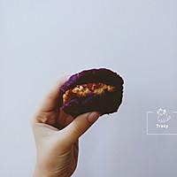 健身减脂 无油紫薯鸡胸肉汉堡的做法图解8