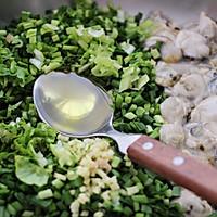 #硬核菜谱制作人#牡蛎韭菜粉嫩饺子的做法图解7