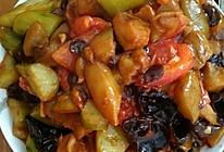 烧茄块的做法