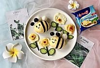 小蜜蜂&小花创意儿童餐的做法