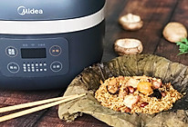 茶楼必点——广式荷叶鸡饭的做法