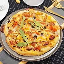 儿童节披萨情结|含水量超高披萨饼皮,隔夜发酵,好吃停不下手