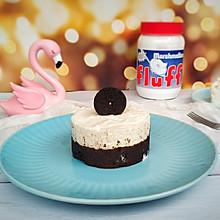 棉花糖版冻芝士蛋糕
