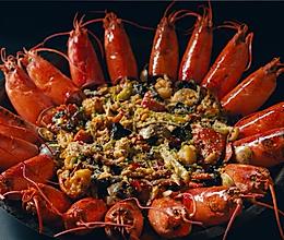 霸王龙虾锅的做法