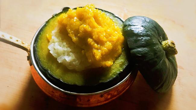 南瓜糯米飯的做法