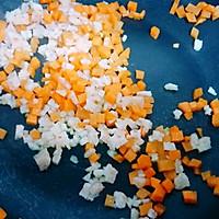 11M+杂蔬虾仁汤饭:宝宝辅食营养食谱菜谱的做法图解3