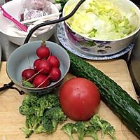 美国南方香酥炸鸡(配炸薯条和蔬菜沙拉)的做法图解7