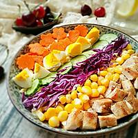 彩虹沙拉――增肌减脂两不误的健身餐的做法图解14