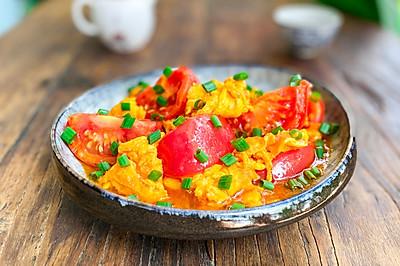 完美番茄炒蛋!3分钟教你炒出大师级西红柿炒蛋!国民下饭菜!