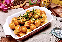 #春日时令,美味尝鲜#茄汁鲜贝露鹌鹑蛋的做法