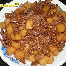 红烧土豆烩牛肉-春季美食