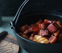 #下饭菜#不加一滴酱油的红烧肉焖冬笋的做法