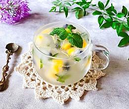 #夏日撩人滋味#蓝莓芒果薄荷特饮的做法
