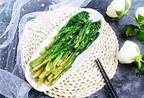 蒜蓉油麦菜#做道好菜,自我宠爱!#的做法