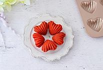 红丝绒心形玛德琳蛋糕的做法