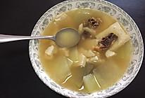 腊鸭豆腐冬瓜片汤的做法