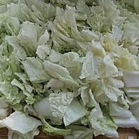 家常下饭菜--白菜炒粉条的做法图解3