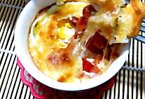 奶酪玉米番茄鸡蛋杯的做法