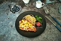 鸡胸扒意面#520,美食撩动TA的心!#的做法