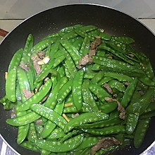 瘦肉炒荷兰豆