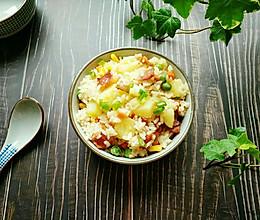 土豆培根焖饭的做法