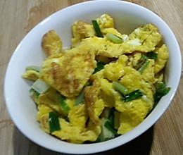 香葱炒土鸡蛋的做法