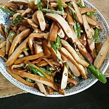 尖椒炒豆干