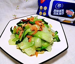 海米小油菜#厨房有维达洁净超省心#的做法