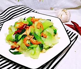 海米小油菜的做法