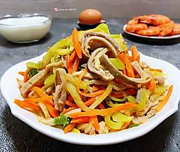 #元宵节美食大赏#麻辣猪肚凉拌莴笋丝的做法