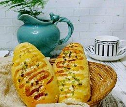 (一次发酵法)火腿肠早餐面包的做法