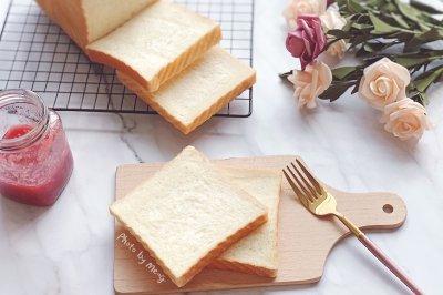 基础三明治平顶吐司【水合法】#美食新势力#