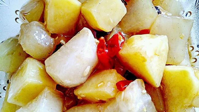 素烧土豆冬瓜(减肥美容佳品)