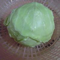 炝炒圆白菜 的做法图解1