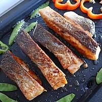 黑椒三文鱼的做法图解12