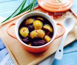 #秋天怎么吃#红枣板栗番薯糖水的做法